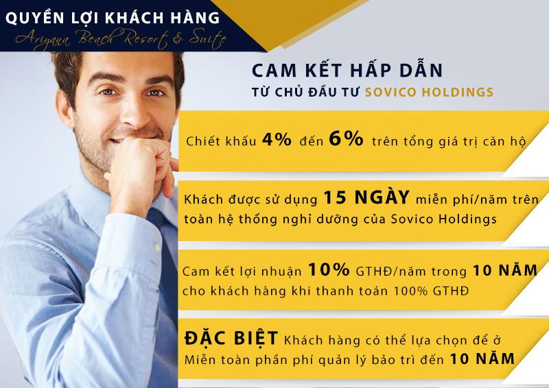 Cam kết lợi nhuận và những ưu đãi hấp dẫn của chủ đầu tư uy tín lâu đời tại Việt Nam.